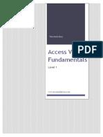 Access VBA Fundamentals - Level 1.pdf