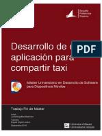 Desarrollo de Una Aplicacion Para Compartir Taxi Miguelez Martinez Lucia