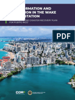 Puerto Rico Transformation Innovation Plan Congressional Submission
