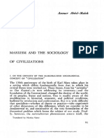 Marxism and the sociology of civilization