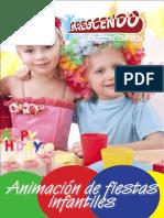 Brochure Fiestas Infantiles