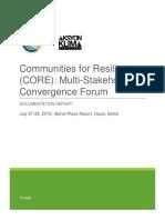 Docu Report CORE Forum 9August2016.docx