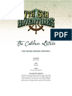 7th Sea Adventure - The Grand Design 01 - The Caliberi Letters