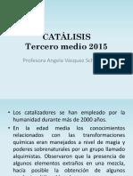 CATALISIS 2015