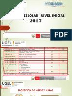 Horario Nivel Inicial 2017