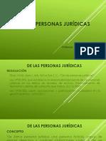 De Las Personas Jurídicas