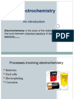 Physical Chemistry Chapter 4 - Electrochemistry