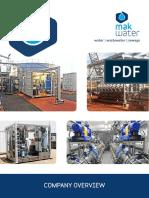 MAK Company Brochure 2018