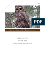 northern spotted owl endangerment white paper portfolio without edits