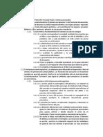 Derecho Procesal Penal - Dispersión temática