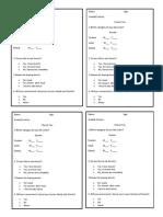 Business Plan Questionnaire