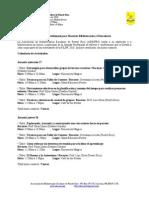 Jornada Profesional Bibliotecarios FILPR2010