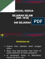 940_2 Sejarah Islam(500-1918).ppt