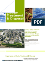 Sludge Treatment & Disposal