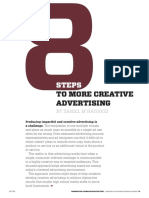8 Steps to More Creative Advertising