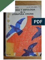 Historia y antología de la literatura chilena