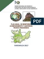 Plan Anual de Monitoreo 30.05.2017