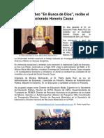 Dr Pedro Ayala Ruiz Recibe Honoris Causa