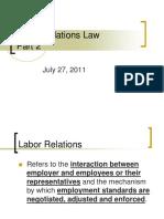 Labor Code- January 2010
