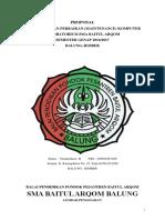 Proposal Perawatan Dan Perbaikan Lab