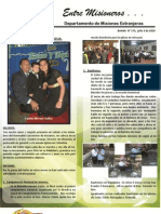 Boletin 173 Informe Misionero de Nicaragua - Julio 3 2010