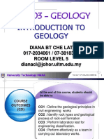Geology Chapter 1