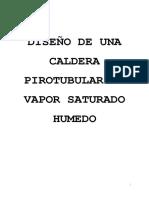 262198472 Diseno de Una Caldera Pirotubular de Vapor Saturado Humedo