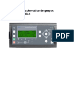 Controlador Automático de Grupos GeradoresAGC