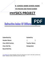 Physics Class 12 project