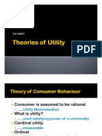 Theory of Utility