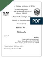 Práctica 1 Metalografía