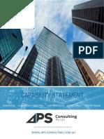 Aps-c Capability Statement