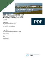 Mertarvik Evacuation Center Design Analysis Report