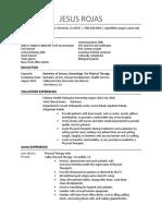 kines 495 resume