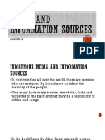 Chapter5-Media and Information Sources