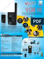 VG818 Brochure