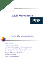 Mould Maintenance
