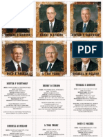 LDS Apostle Trading Cards