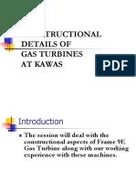 Construction of Gas Turbine