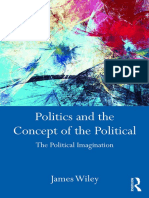 Wiley, J. (2016). Politics and the Concept of the Political