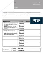 3M Fall Pro Inspection Checklist Logs