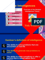 Overview of Multiple Intelligences