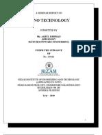 Seminar (Nano Technology)
