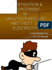 Misuse and Theft of Electricity