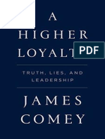 A Higher Loyalty Comey en 32470
