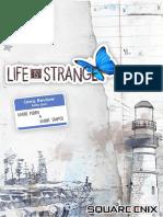 Análise Life Is Strange