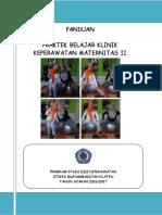 Buku Panduan Maternitas Tingkat II