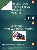 Materi Penyuluhan Hipertensi Dan Dm