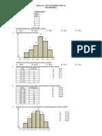 Soal Ulangan Harian Kd Statistika Ok