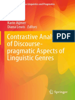 Contrastive Analysis of Discourse